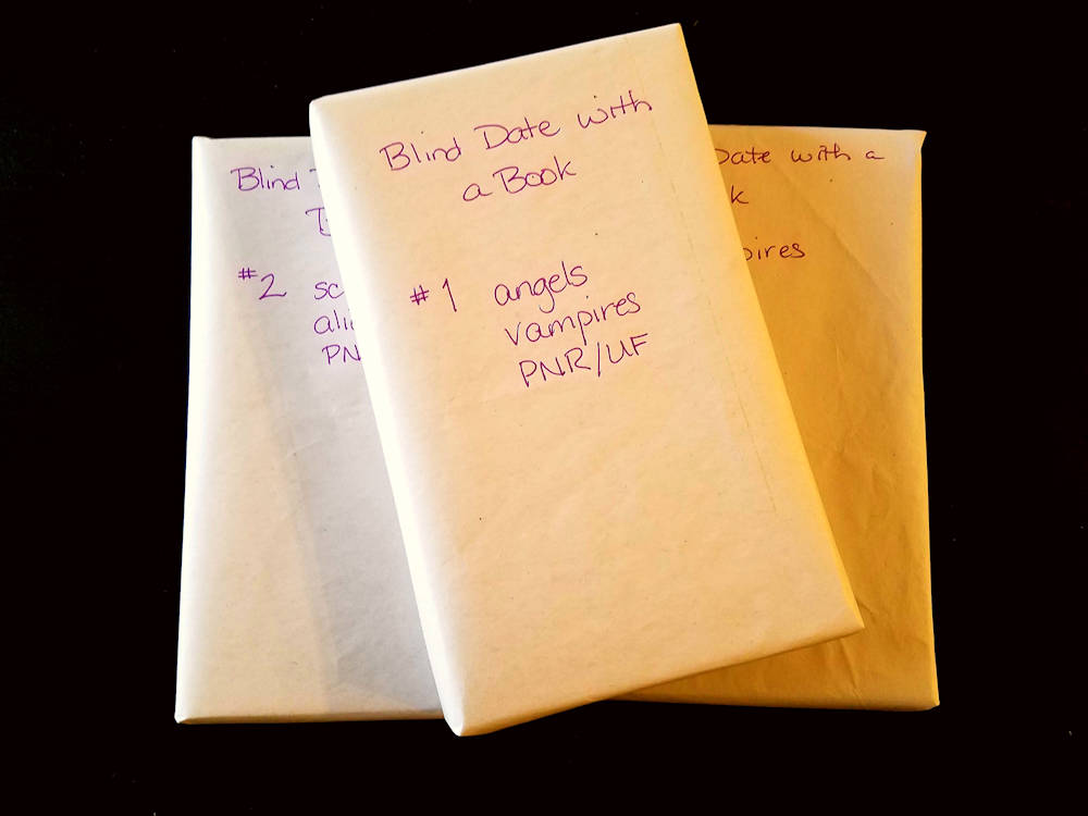 Blind Date with a Book#1